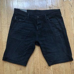 Abercrombie & Fitch Men's Black Jeans Shorts